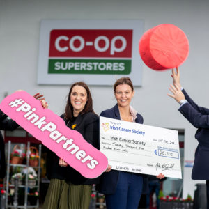 Farmers Embrace PINK to Raise €20,500 for the Irish Cancer Society