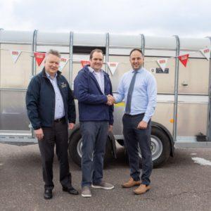 Local Farmer Wins Ifor Williams TA510 Livestock Trailer Worth €5,000!