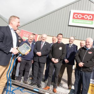 Minister Creed Launches Beef Environmental Efficiency Pilot at Co-Op Superstores Clondrohid