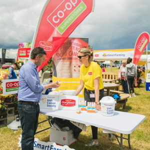 Sun Safety First: Dairygold go out in force to show its support for the Irish Cancer Society's SunSmart campaign as part of National Farm Safety Week, which runs until 19th July