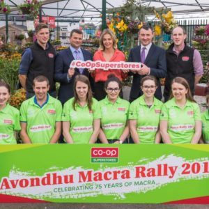 Co-Op Superstores Avondhu Macra Rally 2019 Officially Launched