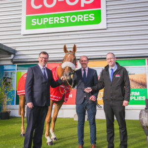 Co-Op Superstores sponsors National Hunt Raceday at Cork Racecourse Mallow for third year in a row