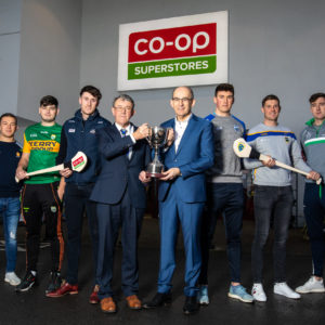 Co-Op Superstores teams up once again with Munster GAA to sponsor 2020 Munster Hurling League