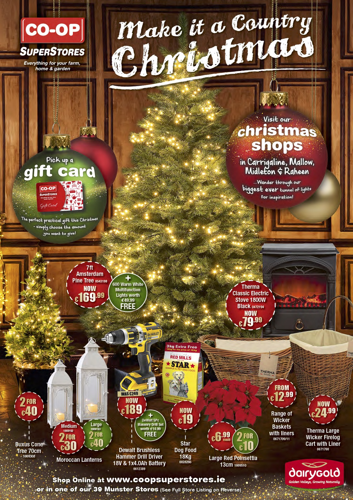 Make It A Country Christmas Brochure 2016