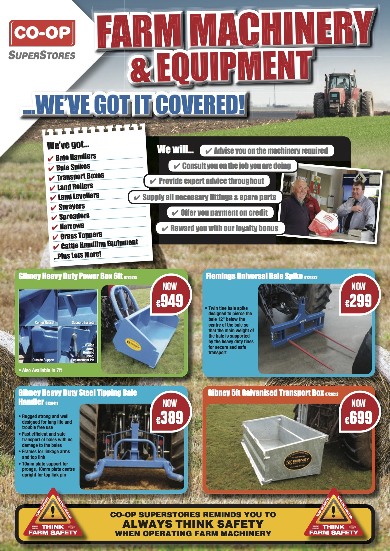 Farm Hardware and Machinery Brochure 2016