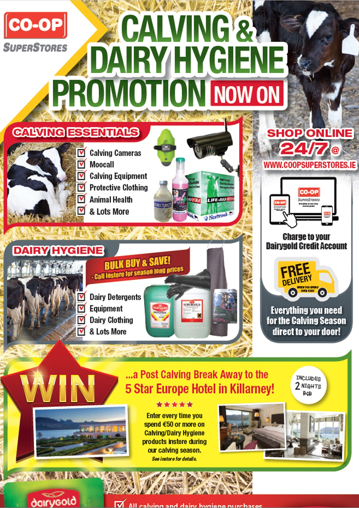 Calving & Dairy Hygiene Promotion 2017