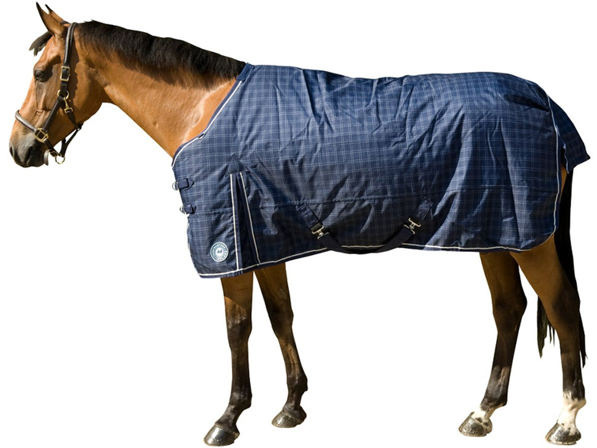 Turfmasters Check Middleweight Turnout Horse Rug