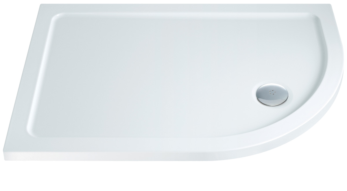 Slimline Rectangle Shower Tray 1200 X 800Mm White