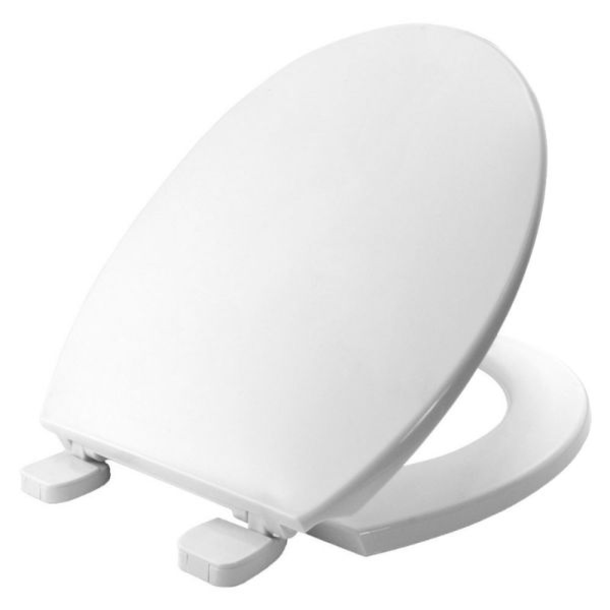 Bemis Chester STA-TITE Plastic Toilet Seat (White)