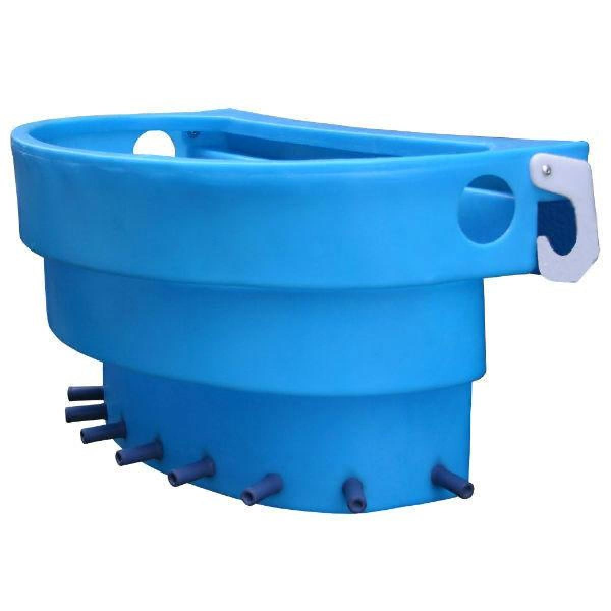 Rubber Feed Trough: JFC 10 Teat Gate Feeder Trough