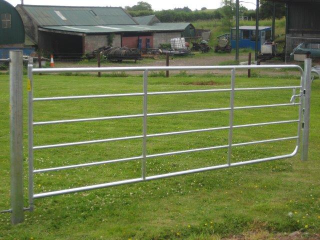 Galvanized Farm Gate D4