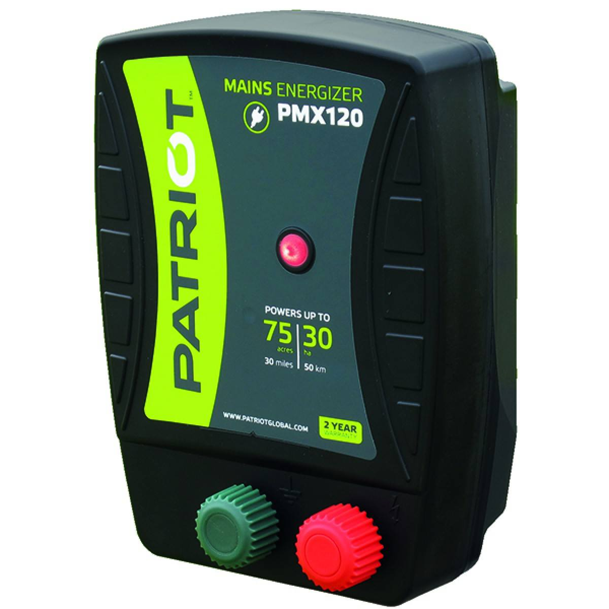 Meta Title Mains Powered Energizers Patriot Pmx 120 Fencer