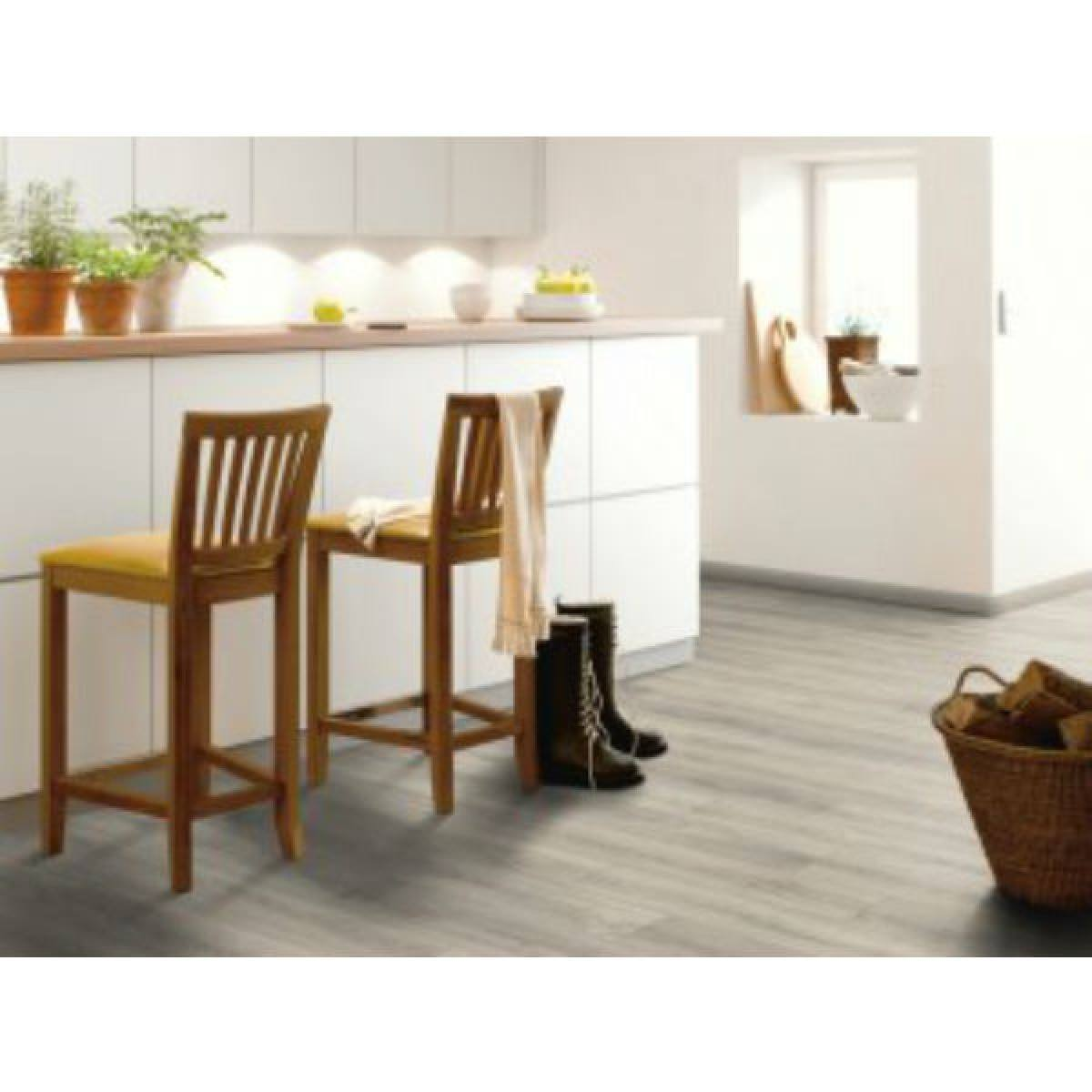 Canadia 11mm Mountain Grey Oak Laminate Flooring
