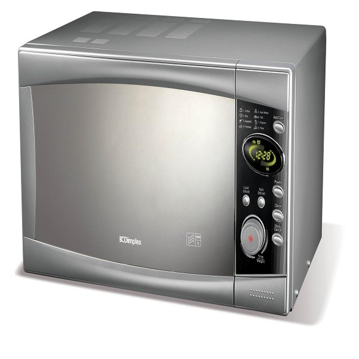 dimplex microwave 900w 23l silver. Black Bedroom Furniture Sets. Home Design Ideas