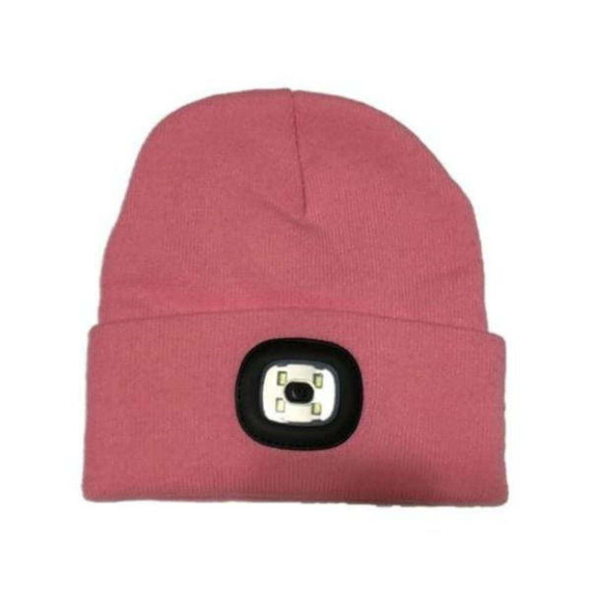 4abacb83bc9 Thinsulate Beanie Hat   Led Light - Pink