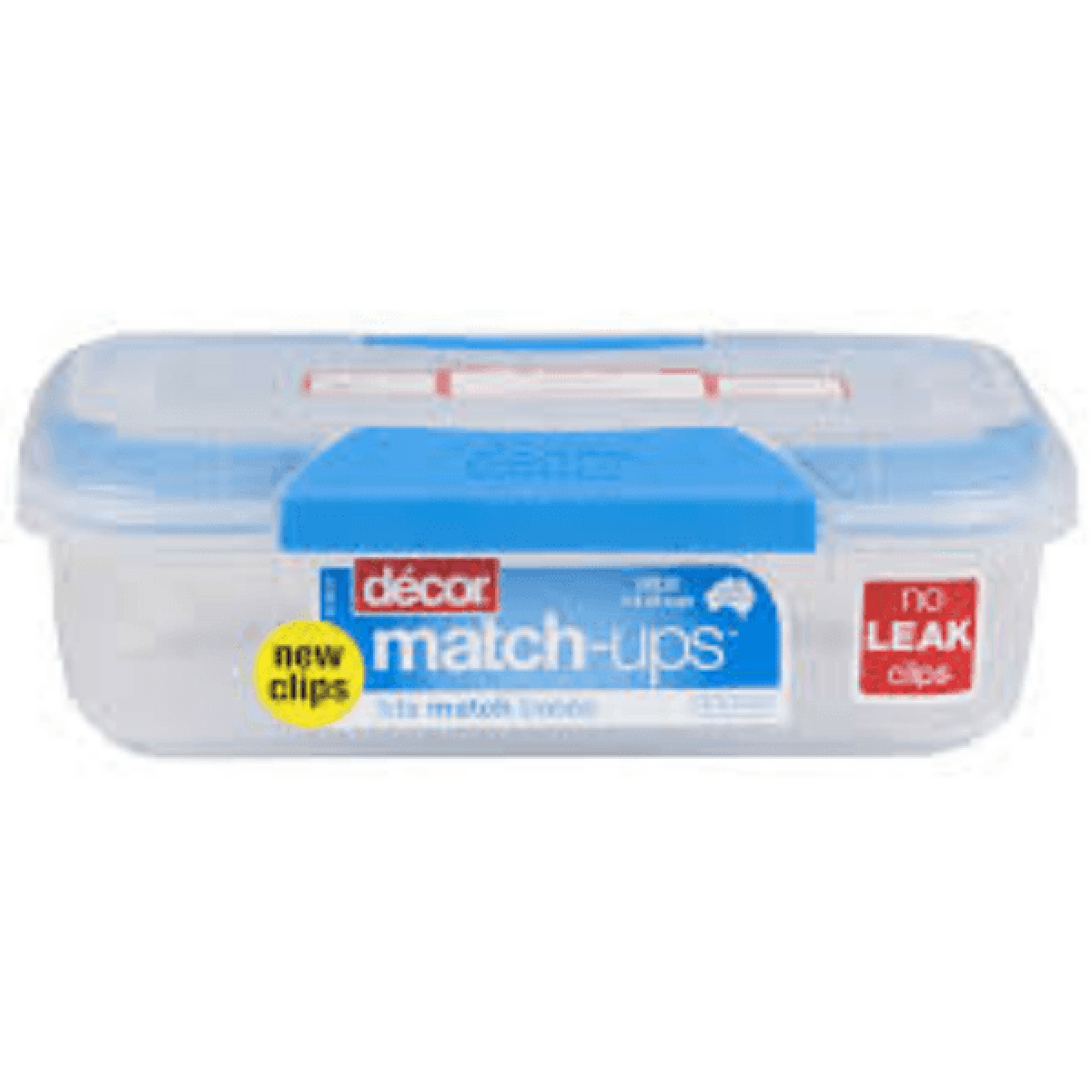 Blue Decor Match Up Clips 600ml Oblong