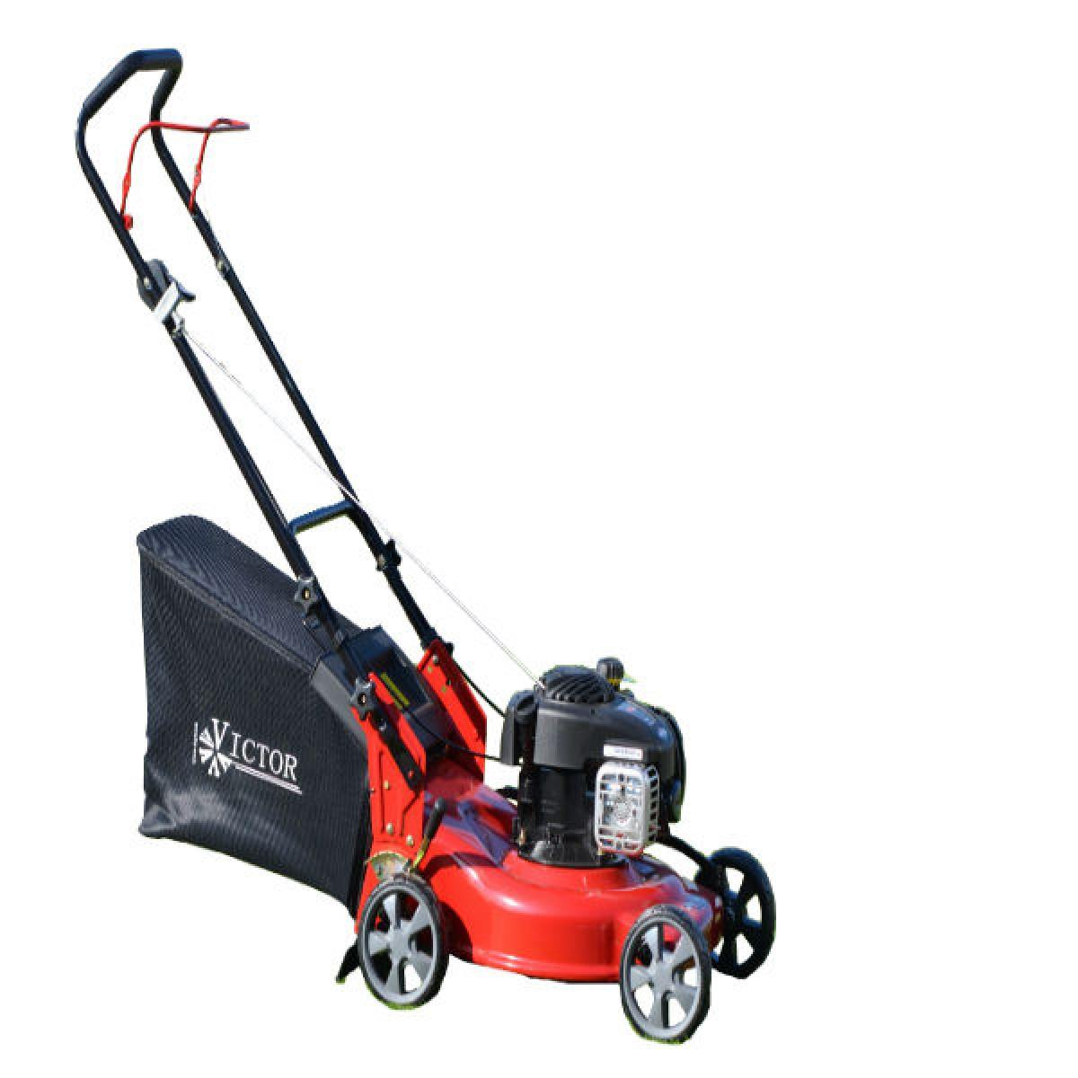victor petrol push mower briggs stratton 450 series engine. Black Bedroom Furniture Sets. Home Design Ideas