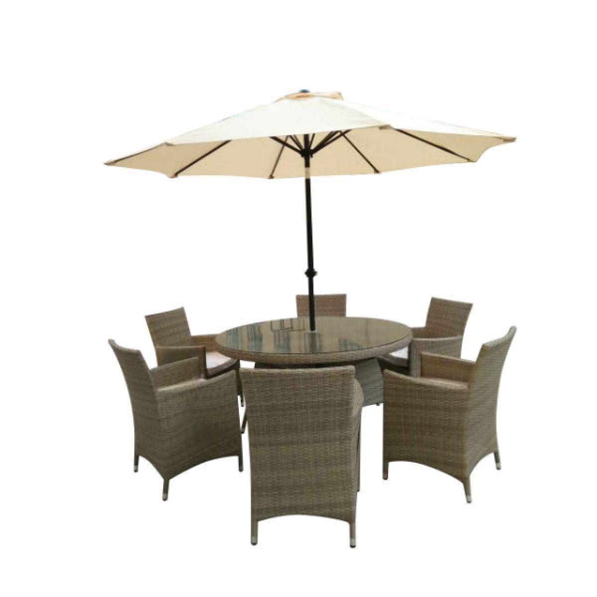 kimora 8 piece rattan garden furniture set - Garden Furniture 8 Piece