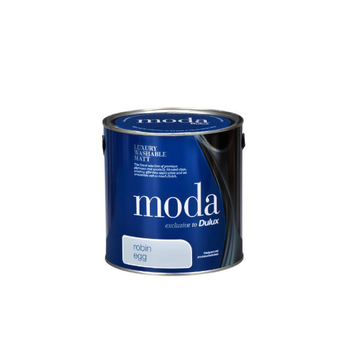 dulux moda matt emulsion paint 5l. Black Bedroom Furniture Sets. Home Design Ideas