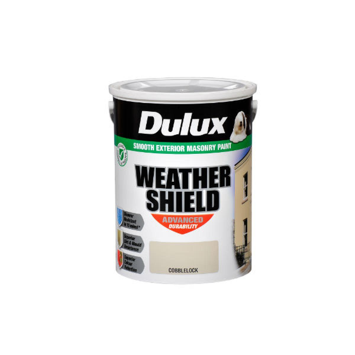 dulux weathershield 5l paint. Black Bedroom Furniture Sets. Home Design Ideas