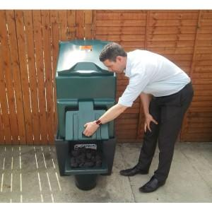 Carbery 3 Bag Slimline Coal Bunker + Stand