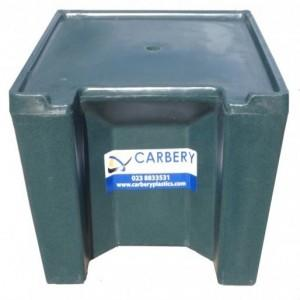 Carbery 3 Bag Coal Bunker Stand Green - Bunker Sold Separately