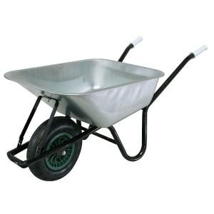 Build It Galvanised Wheelbarrow 100Lt