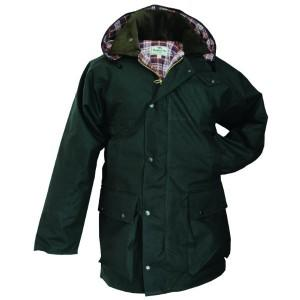 Hoggs of Fife Padded Waxed Jacket Olive 38e40da36a66